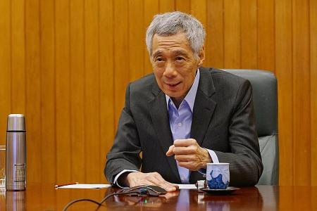 Tide yet to turn for coronavirus crisis in Singapore: PM Lee