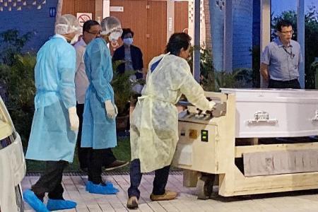 First person to die of virus here cremated at Mandai Crematorium
