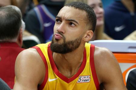 Utah Jazz's Rudy Gobert, who has Covid-19, loses sense of smell