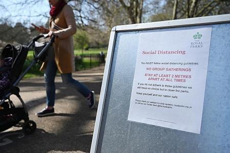 Britain urges people to stay indoors as lockdown begins