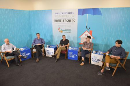 Community must tackle homelessness, say panellists