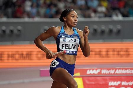 Allyson Felix's Olympic dream endures despite delay of Tokyo Games