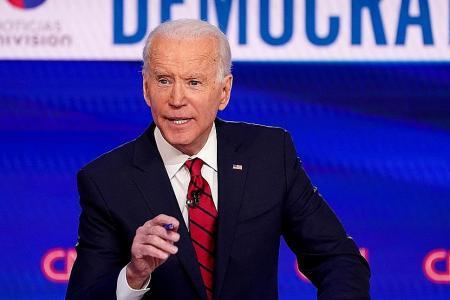 Biden calls Trump's Easter back-to-business goal 'catastrophic'