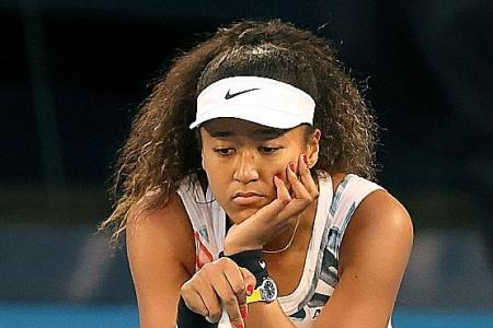 Naomi Osaka: Crisis is the time for us to show Olympic spirit