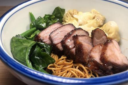 Cook yourself a stay-home meal of Hong Kong-style wonton noodles