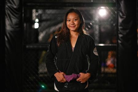 Jiu-jitsu exponent Constance Lien gets a boost from Spex Scholarship