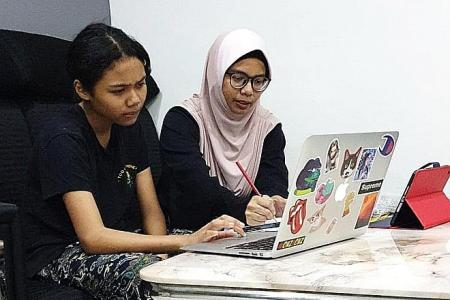 Home-based learning sees a few teething issues on first day