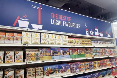 Grab Indian groceries, opening offers at FairPrice Tekka Place