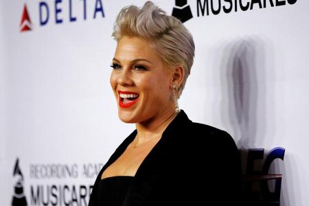 Pink had Covid-19, pledges US$1m to relief efforts
