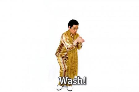 Pikotaro remakes PPAP hit into hand-washing song
