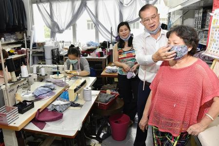 Famous local tailor switches to sewing masks to help fight virus