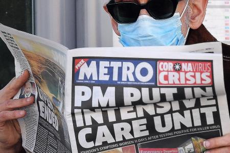 UK PM in intensive care after coronavirus infection becomes worse