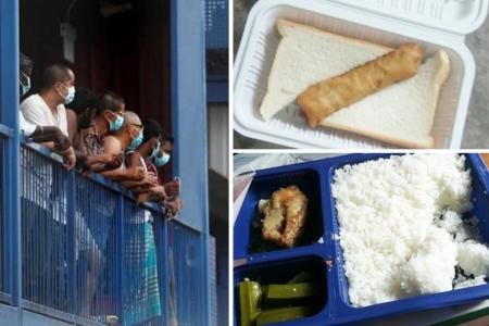 MOM working to improve food for quarantined foreign workers
