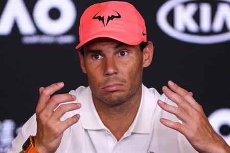 Rafael Nadal expects lengthy delay before tennis resumes