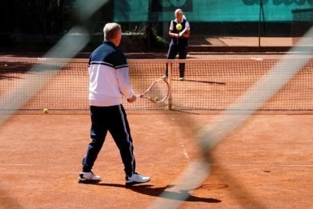 Tennis back on the menu in Austria, but don't shake on it