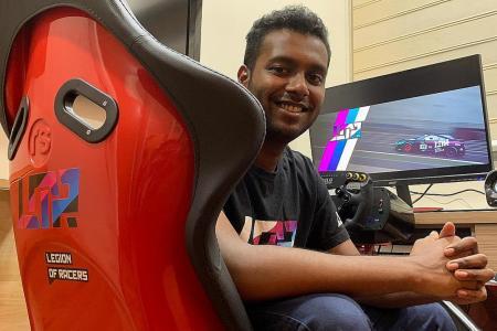 Singaporean e-racer Aleef wins title in regional tournament