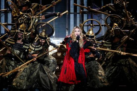 Madonna says she had Covid-19 during Paris tour