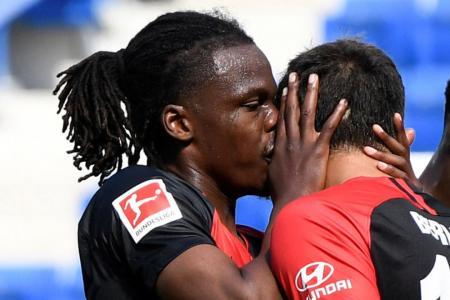 Dedryck Boyata denies kissing Hertha Berlin teammate Marko Grujic