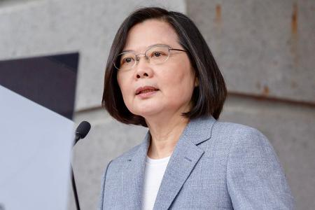 Taiwan president rejects reunification but China says it's inevitable