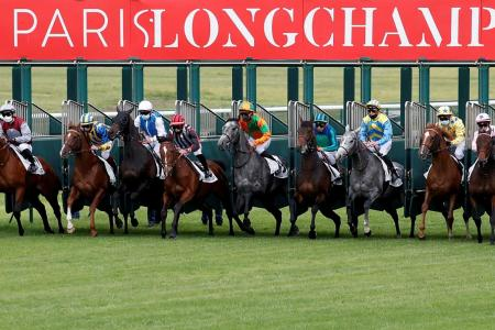 French racing in red zones transferred