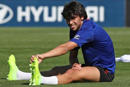 Atletico's Felix sprains knee in La Liga restart preparation