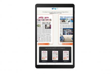 Free access to e-newspapers via NLB extended until further notice