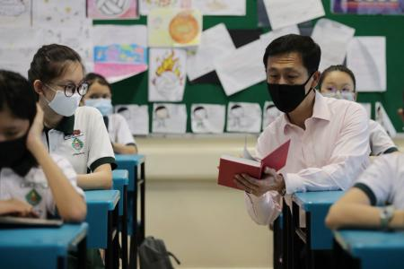 Now is a good time to reopen schools: Ong Ye Kung
