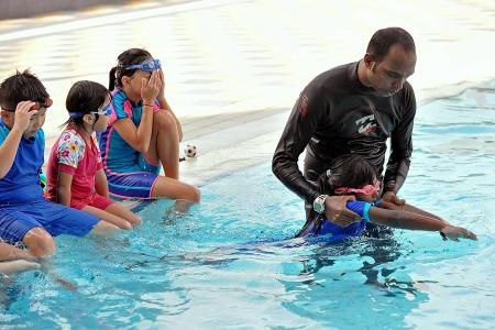 Coaches, beginner swimmers to have no physical contact in Phase 2: SSA