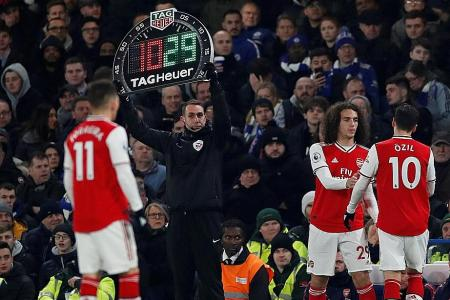 EPL clubs agree on 5 substitutions, with 9 players on the bench