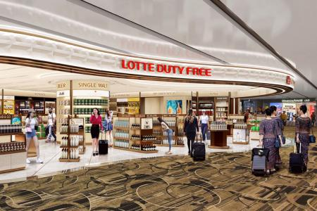 Lotte's Changi Airport stores to be its largest Asia-Pacific operation