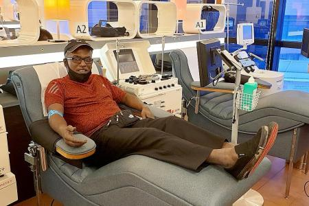 Blood collection rates in Singapore down by 30 per cent