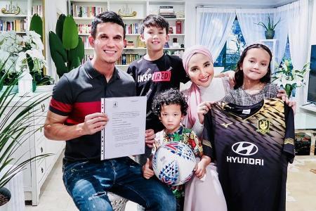 Baihakki Khaizan joins Tampines Rovers on 18-month deal