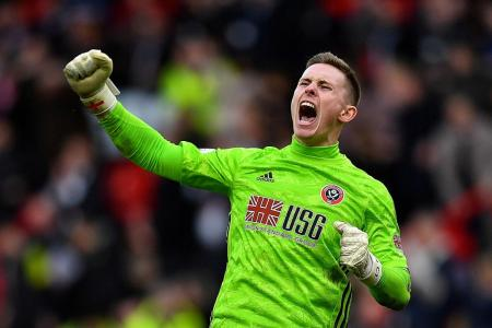 Ole Gunnar Solskjaer tips keeper Dean Henderson to become England's No. 1