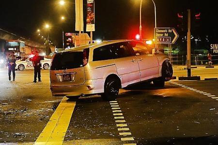 Survivor of Clementi crash sues drivers for negligence
