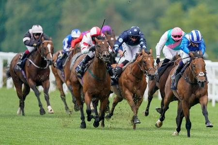 Battaash third-time lucky in Group 1 race
