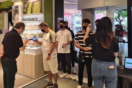 Spike in sales at malls in first weekend of phase two reopening