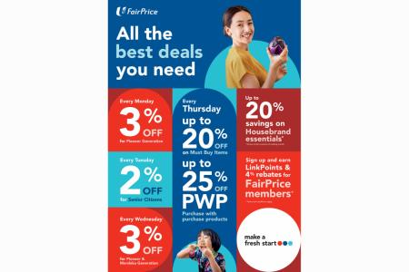 Enjoy phase two with FairPrice products