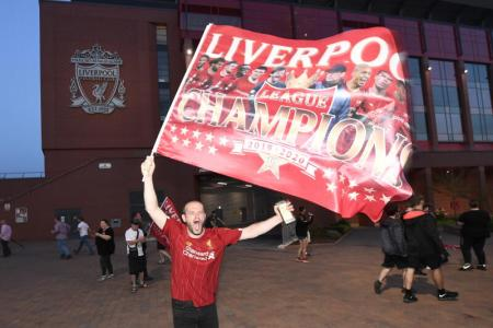 Liverpool clinch EPL title with record seven games to spare