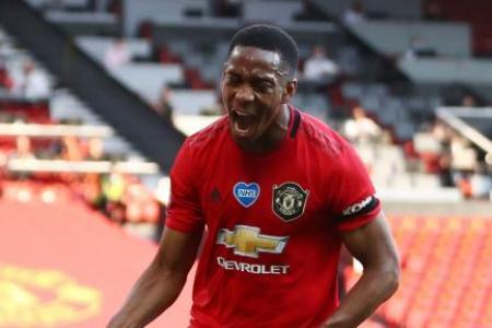 Anthony Martial's striking show against Sheffield United hailed