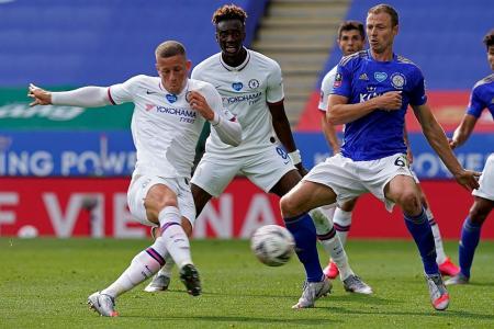 Ross Barkley's winner sends Chelsea into FA Cup semi-finals
