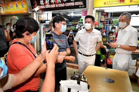 PAP's big guns fan out across island to canvass support