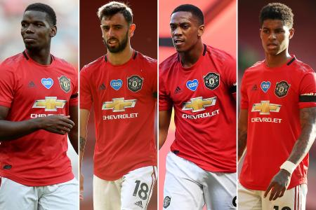 Neil Humphreys: Red Devils' fab four to the fore