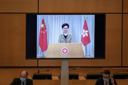 New Hong Kong security law 'to target small minority'