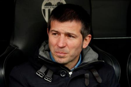 Valencia sack coach Albert Celades, sporting director resigns
