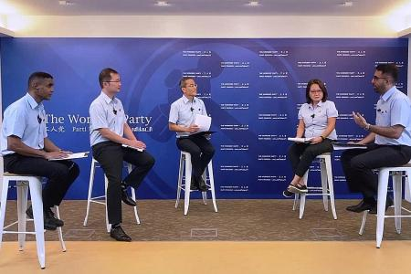 Time for change is now, says WP in its first online talk show