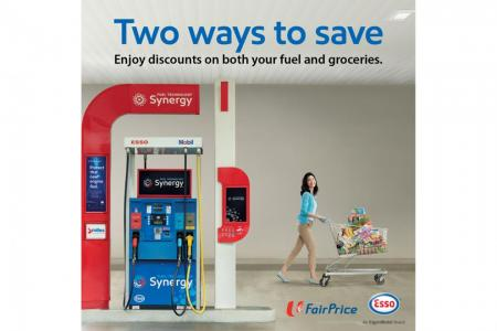 More savings await at FairPrice and Esso