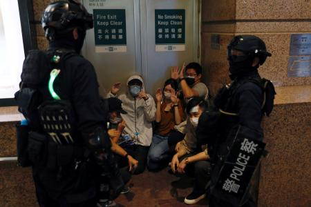 HK activists discussing plan to create Parliament-in-exile