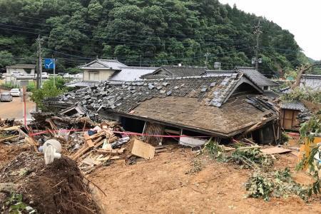 At least 20 dead in Japan as rain triggers floods, mudslides