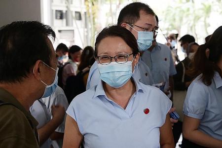 More opposition or strong virus response a 'false choice': Sylvia Lim