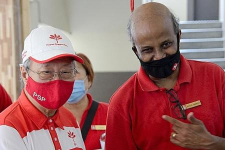 SDP's Tambyah hopes no super majority for PAP